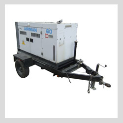 Images - Equipment Rental Services - Airman 60 trailerable generator