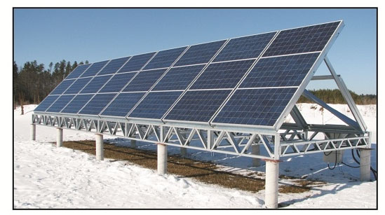 SOLAR OFF GRID POWER PLANT SYSTEM