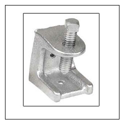 "Images - Beam Clamps - 1/2"" Galvanized Iron Beam Clamps"