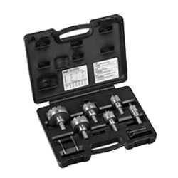 8 Piece Master Electrician Hole Cutter Kit
