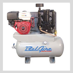 Images - Air Compressors -  BelAire IMC-3G3HH Two Stage Gas Driven Air Compressor