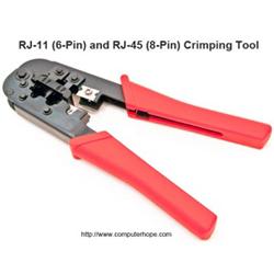 Rj45 Crimp Tool