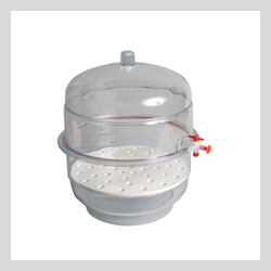 Images - Desiccators and Accessories   -   Vacuum Desiccator 12inch Clear Base
