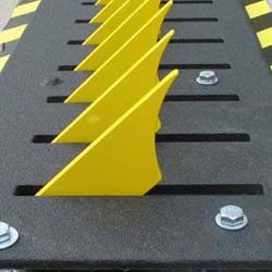 Image - Traffic Safety Equipments and Supplies - Low Profile Traffic Spikes – Tire Shredder