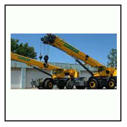 Rough Terrain Hydraulic Cranes