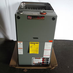 Images - Heating Furnaces - 125000 BTU 80 Pct Eff Ruud UGPR-12NARMR 2 Stage ECM Motor Gas Furnace
