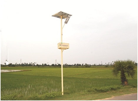 SOLAR STREET LIGHT SYSTEM-CFL
