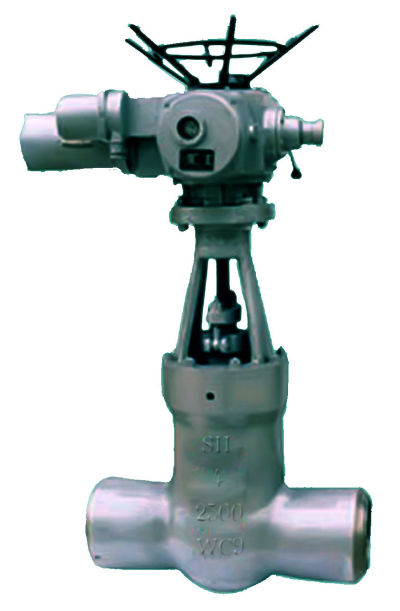 CAST STEEL HIGH PRESSURE GATE VALVES