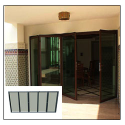 Glazed Folding Door SF 75h