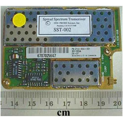 SST-001 Spread Spectrum Radio Transceiver Circuit Card