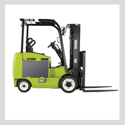 Images - Cranes and Fork Lifts - Clark ECX 25