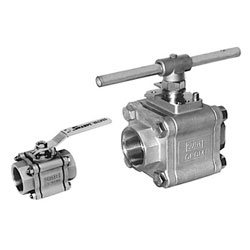 Series FS 84/99 Fire Safe High Performance 3 Piece Ball Valves