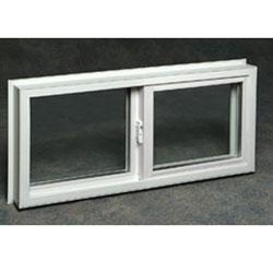 Block Installation Glider Window