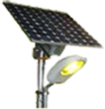 7 2 W LED Solar Streetlight