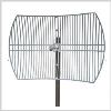 746-806 MHz Grid Parabolic Antenna 15 dBi, die-cast