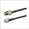 RP-TNC Plug to N Male ,low loss 240 series Jumper 10 feet