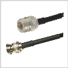 RP-BNC Plug to N Female , 10 feet 195-Series Jumper