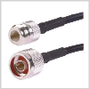 N Male to N Female ,low loss 240 series Jumper 20 feet