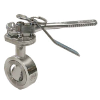 """2"""" Clamped Butterfly Valve"""