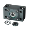MACHINE SCREW BEARING BLOCKS