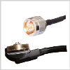 NMO/TAD to N Male Plug , 2 feet 195-Series Jumper