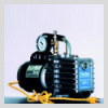 High Vacuum Pump With 0-30 inch Hg Gauge - 10 CFM LAV-10/G