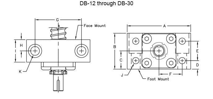 DB Bearing Blocks