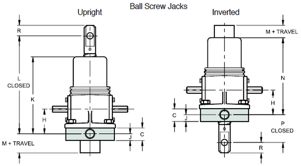 Ball Screw Jacks